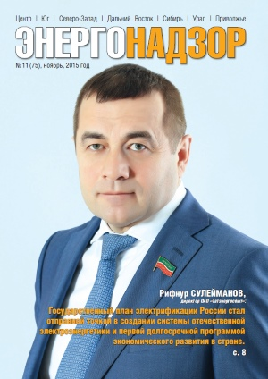 ЭНЕРГОНАДЗОР № 11 (75) Ноябрь 2015 г.